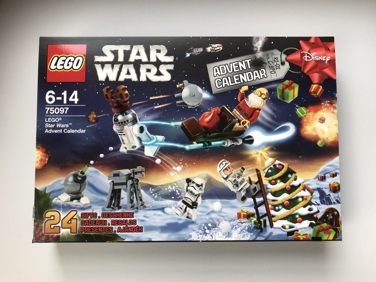 Lego Star Wars 75097 Fiestas Navidad 2015 Lego Calendario de Adviento Nuevo Sellado (2)