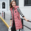 Women Vest Hooded Coat Long Jacket Winter Sleeveles Down Cotton Waistcoat Tops#2