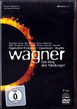 7.DVD WAGNER DER RING DES NIBELUNGEN Das Rheingold Walküre Siegfried BARENBOIM