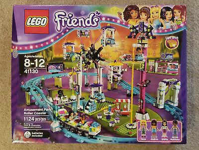 BRAND NEW SEALED LEGO Friends Amusement Park Roller Coaster #41130