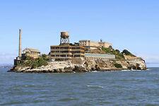 Stampa incorniciata – Alcatraz Isola San Francisco (PICTURE POSTER ART Cella)