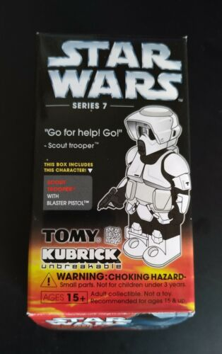 STAR Wars Kubrick series 7 Scout Trooper COLLEZIONE ACTION FIGURE