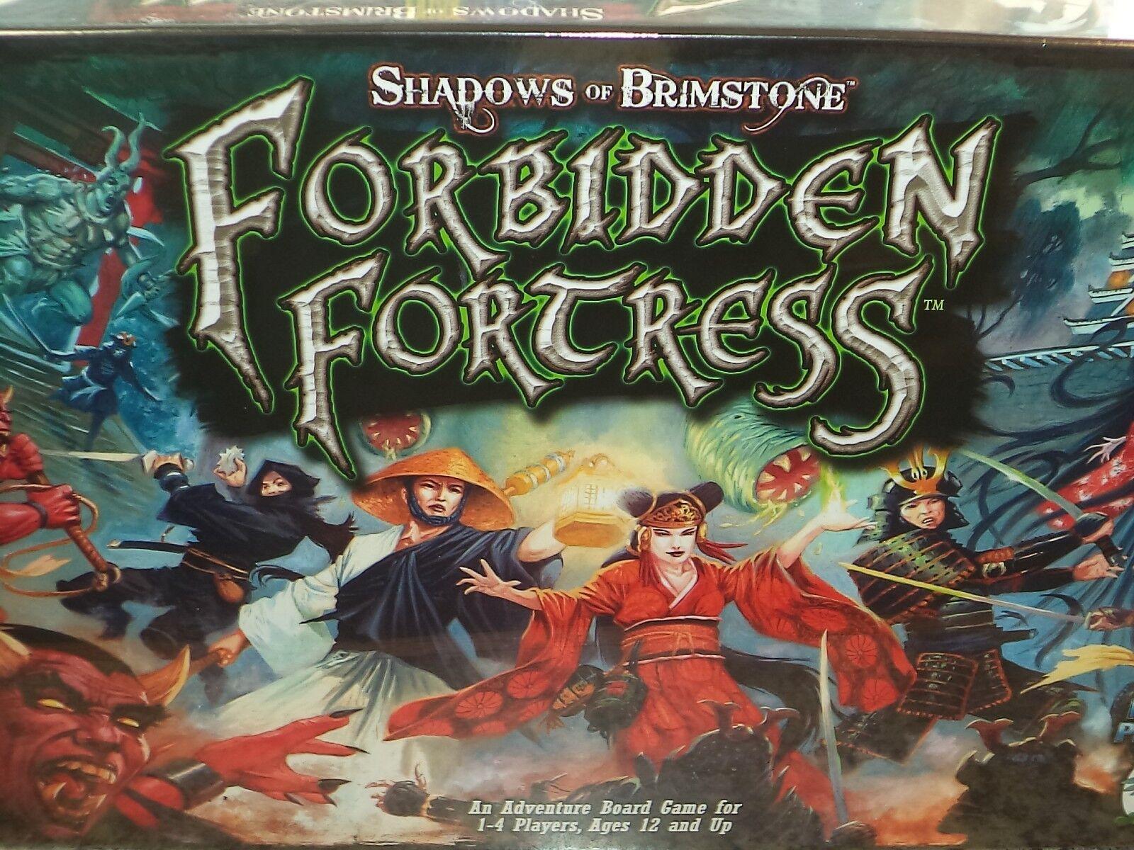 Shadows Of Brimstone: Forbidden Fortress Kern Brettspiel Fliegend Frosch Spiele