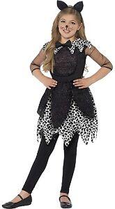 De Lujo Para Ninas Media Noche Gato Negro Disfraz De Halloween 4 9 - Disfraz-de-gata-para-halloween