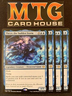 THRYX THE SUDDEN STORM X4 Theros Beyond Death THB Magic MTG MINT CARD