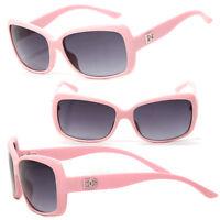 Dg Women Eyewear Mid-size Square Sunglasses Baby Pink Frame Dg Logo Dg131