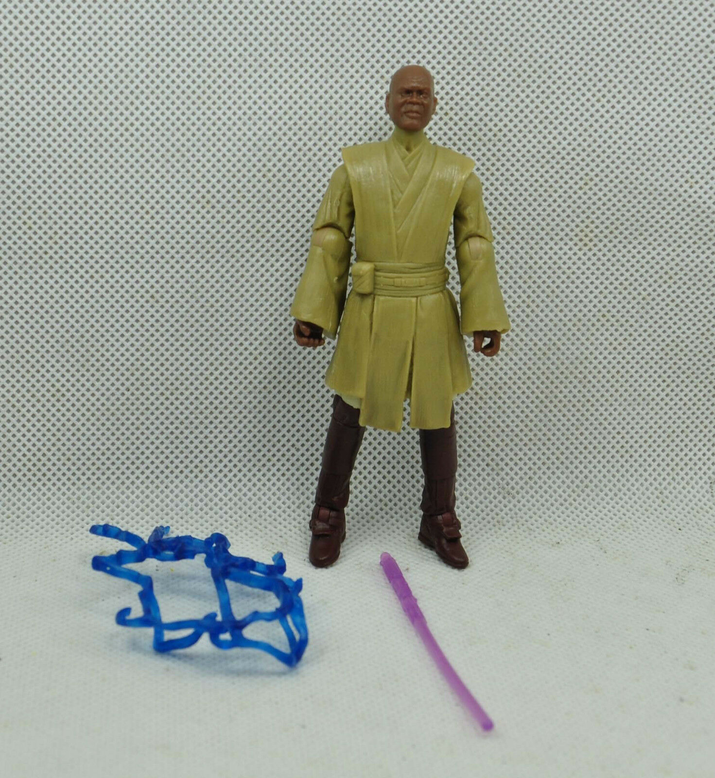 Star wars  mace windu first shot test shot very rare  predotype
