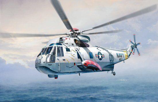 1 72 Cyber Hobby Sea King SH-3D Helicopter Plastic Model Kit