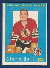 GLENN HALL 59-60 TOPPS 1959-60 NO 32 NRMINT+ 4
