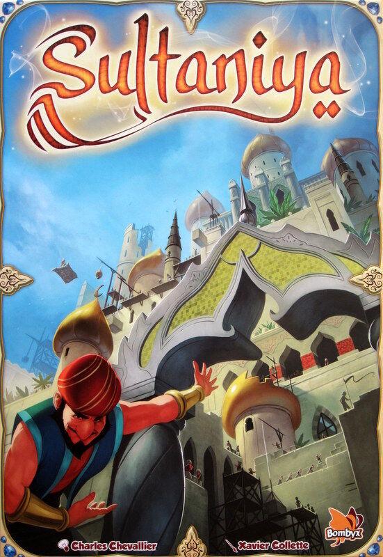 Sultaniya - Boardgame - English Edition - Nuovo
