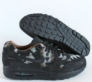 Nike Air Max 1 PND QS Pendleton Premium Black Ale Brown 825861 004 Size 12