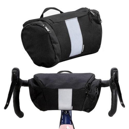 1X 3L Fahrrad Lenkertasche Fahrradtasche Wasserdicht Rahmentasche Reflektierend