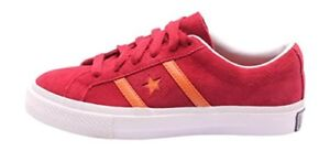 4f720d8313e200 CONVERSE ACADEMY SUEDE OX LOW VINTAGE MEN WOMEN SZ 4.5 6.5 SHOES RED ...