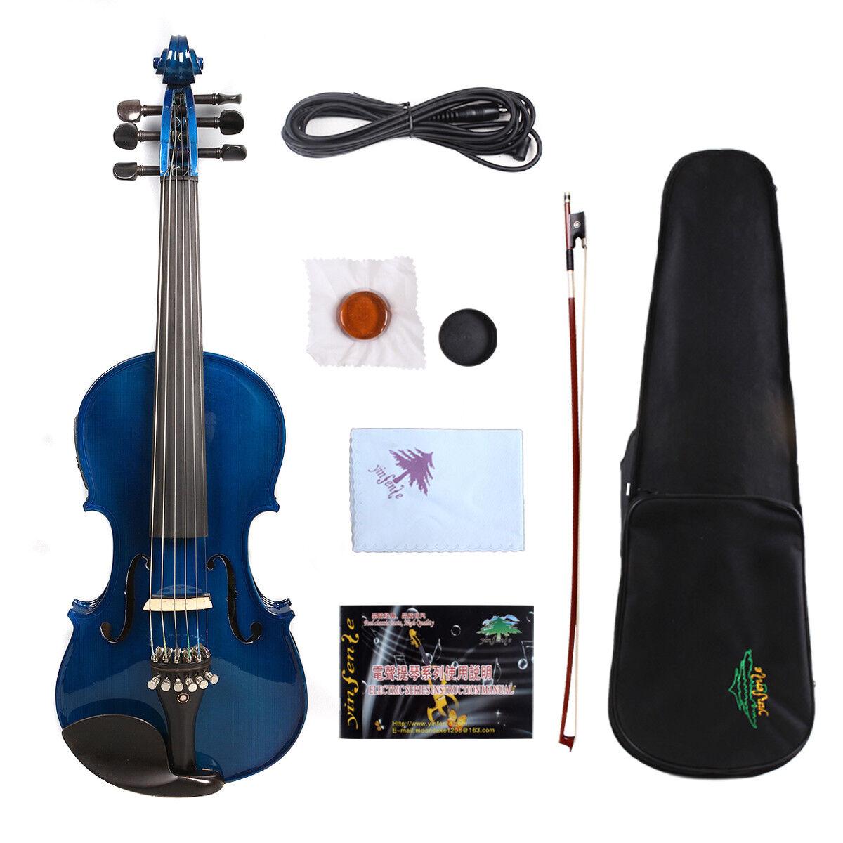 6string Electric Violin 4 4 Maple+spruce handmade High quality violin EV1