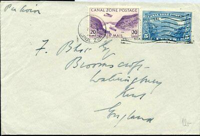 Briefmarken Sonstige 426042 Kanalzone Blg Mit Flugpostmarke Nach Großbritannien