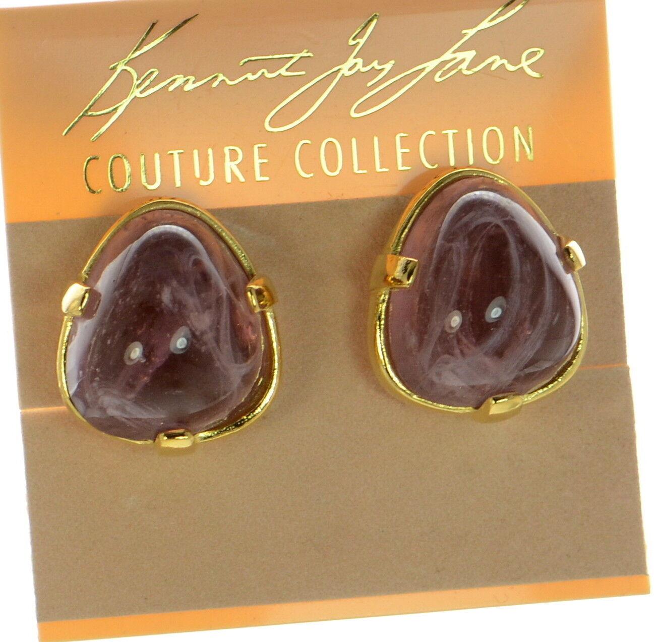 Kenneth Jay Lane KJL gold-tone Clip-on Earrings