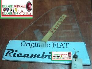 DEFLETTORE TRIANGOLO VETRO DESTRO FIAT 500 F/L/R DEFLECTOR GLASS RIGHT