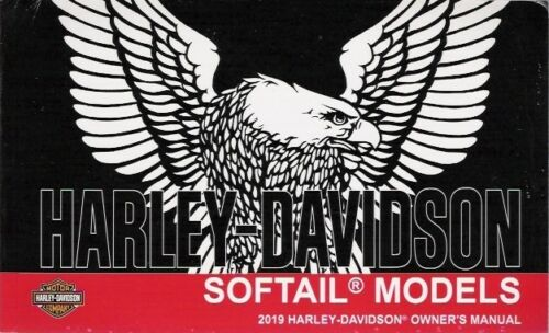 2019 Harley Softail Models Owner/'s Owners Owner Manual Book Guide 94000536