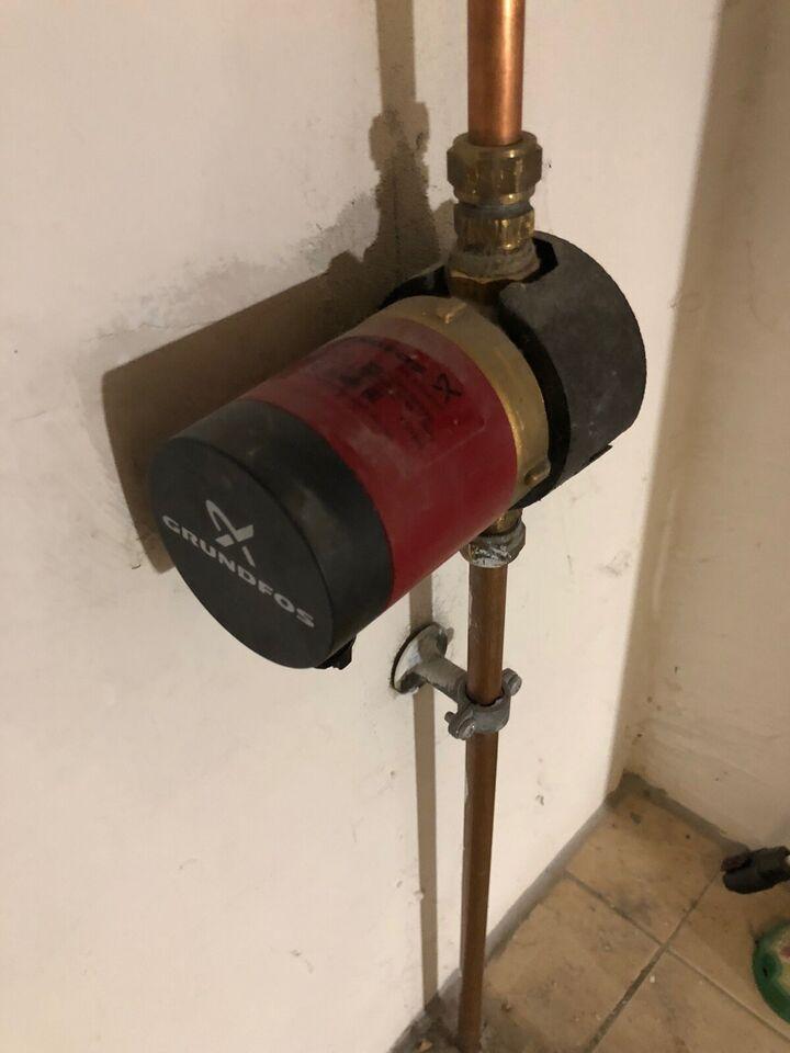 Varmtvandsbeholder , Metro