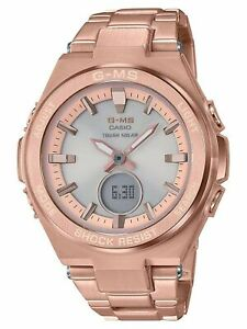 Casio-Women-039-s-Baby-G-G-MS-Rose-Gold-Tone-Watch-MSGS200DG-4A