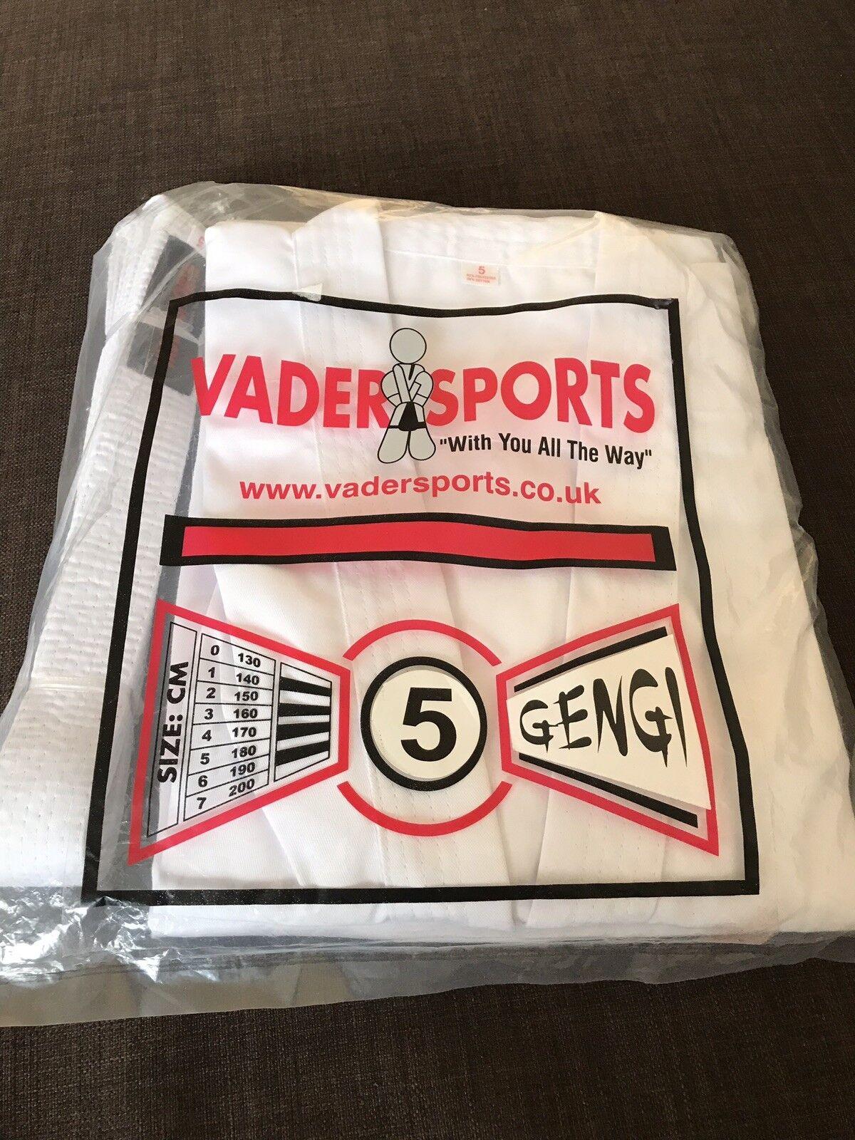 Vader Sports martial arts white kimono suit size 170 cm