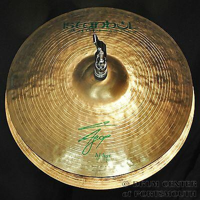 "Istanbul Agop Signature Hi Hat Cymbals 14"" 880/1000 grams - VIDEO - AGH14"