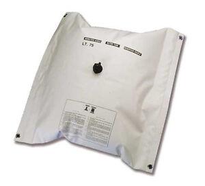 Serbatoio sacca in PVC per Acqua Potabile Lt.55 per doccetta su barca gommone