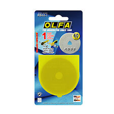 OLFA 60mm Rotary Cutter Replacement Blade 1 Count
