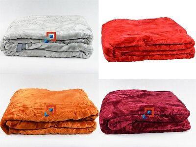Klug Tagesdecke Wohndecke Bettüberwurf Akryldecke Kuscheldecke 200x240cm Polyester Eleganter Auftritt