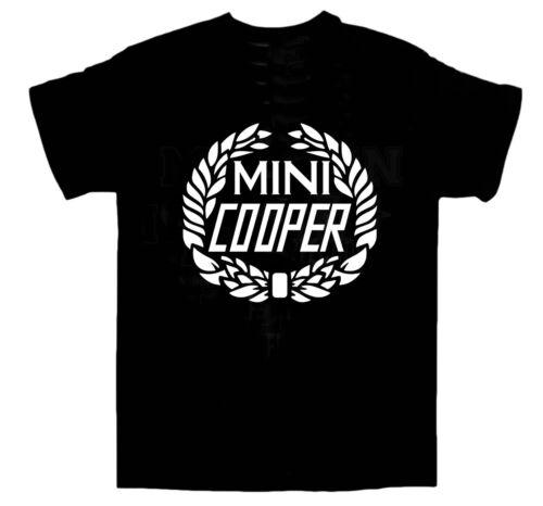 Movies Size L Birthday Racing Mini Cooper T-shirt ITALIAN JOB Cars