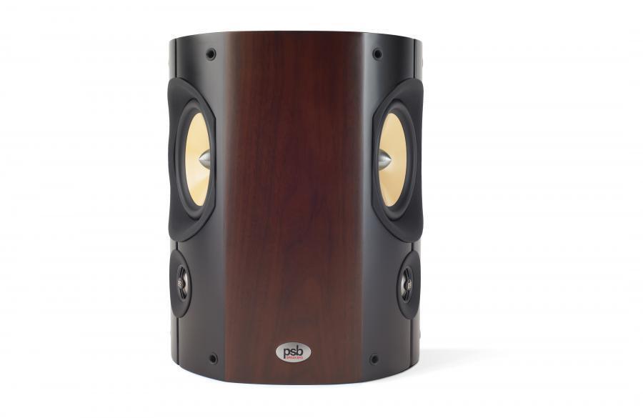 PSB Imagine S Surround Speakers PAIR Walnut  {BRAND NEW}