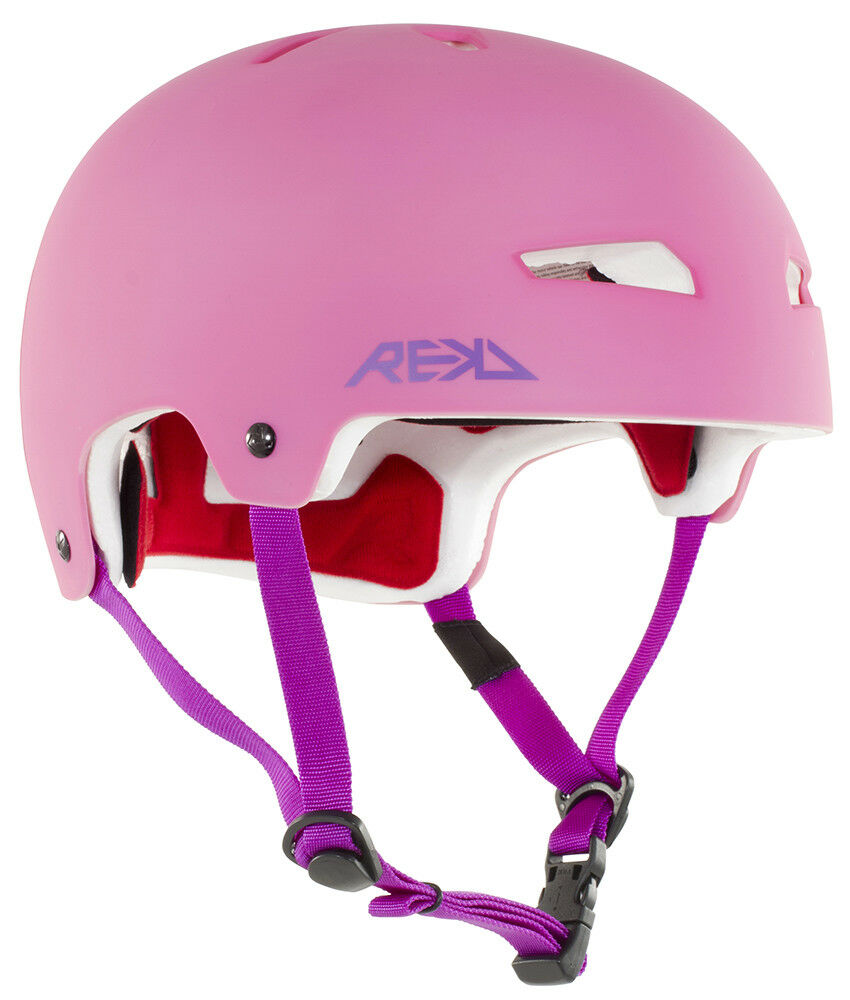 REKD Elite Safety Helmet Pink Purple Small