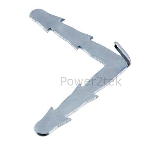 2 X Belling Forno Fornello Guarnizione Della Porta /& Angolo Retto clip di fissaggio in silicone