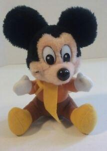 "Walt Disney Mickeys Christmas Carol Plush Mickey Mouse Doll 7.5"" Vintage - Z11 | eBay"