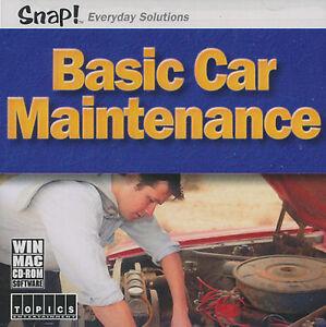 BASIC-CAR-MAINTENANCE-Auto-Repair-PC-amp-Mac-Software-NEW