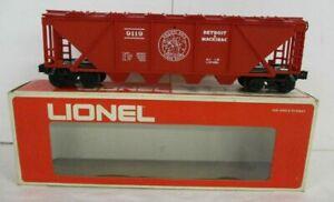 LIONEL 9119 DETROIT & MACKINAC COVERED HOP