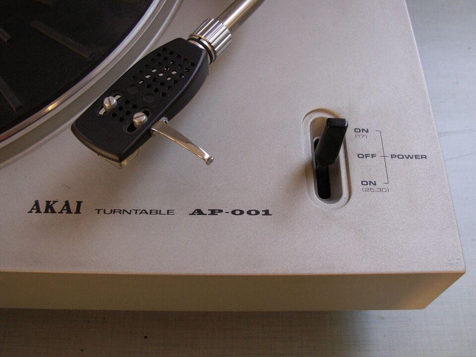 Pladespiller, Akai, AP-001