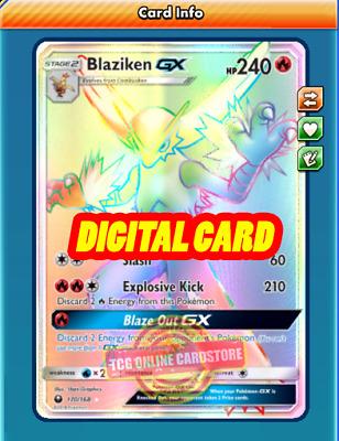 DIGITAL ptcgo in Game Card Electrode GX Regular Art  for Pokemon TCG Online