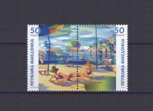 Mazedonien, Europa CEPT 2004 Ferien Thema, MNH