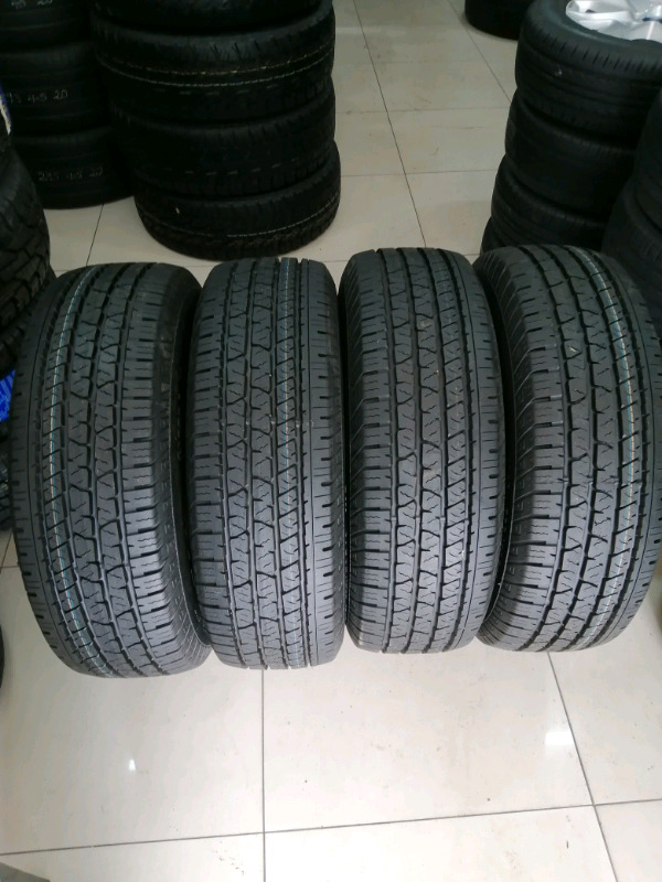 4 brand new cross contact continental tyres 255/70R16