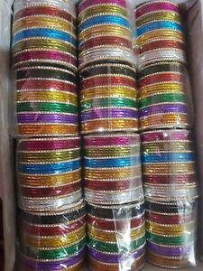 New Indian Pakistani Kids Bangles Chudi Multi Colours 25 Chudiya Chura For Girls