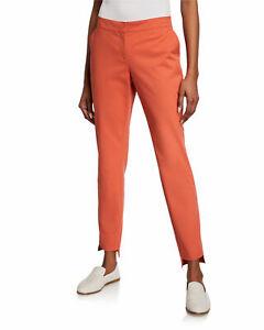 Lafayette 148 New York Womens Woven Slim Step Hem Dress Pants BHFO 8687