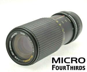 Micro-4-3-m43-Fit-80-205mm-160-410mm-Objektiv-Panasonic-Lumix-Olympus-Pen