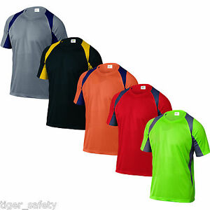 Delta-Plus-Panoply-Bali-Mens-Polyester-Dri-Fit-Work-T-Shirt-Sport-Tee-Shirt-BNWT