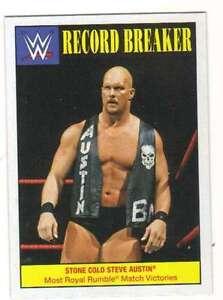 2016-Topps-WWE-Heritage-Wrestling-Record-Breakers-25-Stone-Cold-Steve-Austin