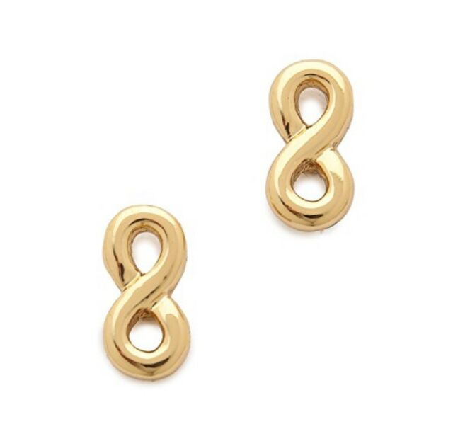 d1d1d56dd87e0 Kate Spade Kiss a Prince Infinity Loops Stud Earrings # 69 D