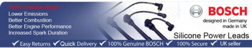 09.91-09.93 BOSCH Scintilla Accensione HT Lead B127 F VAUXHALL ASTRA Mk3 1.4