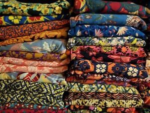 NEW-LuLaRoe-LOT-OF-5-OS-One-Size-Mystery-Prints-Leggings-Retail-125