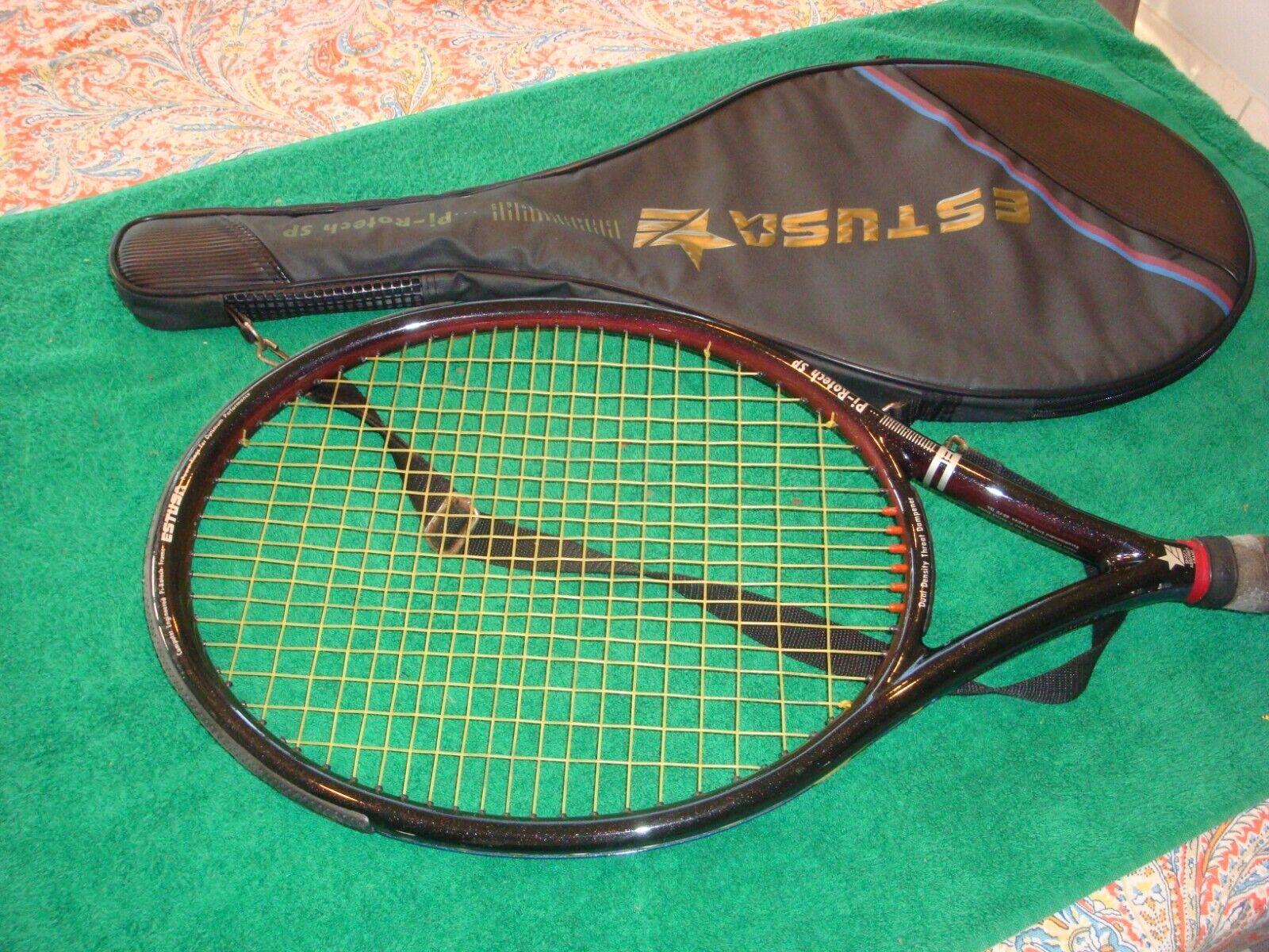 Estusa  Pi-rojoech SP OverTalla tenis raqueta 4 5 8   excelente   barato