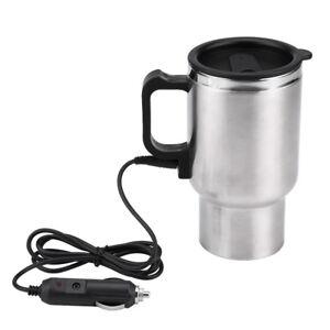 12V-450ml-Auto-Elektrische-Heizung-Tasse-Tasse-Kaffee-Tee-Becher-Wasserkocher